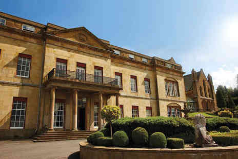 Shrigley Hall Hotel - Overnight stay for two people with three course dinner, breakfast and two rounds of 18 hole golf each - Save 24%