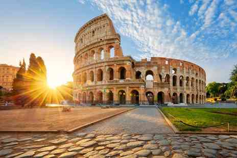 Super Escapes Travel - Two or three night Rome break with breakfast and return flights - Save 40%