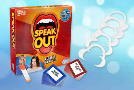 Trojan Electrical - Hasbro Speak Out board game - Save 64%