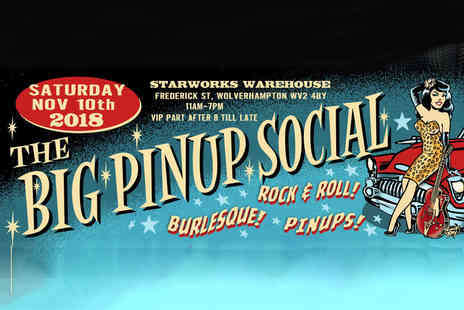 The Big Pinup Social - One ticket to The Big Pinup Social on 10th Nov - Save 61%