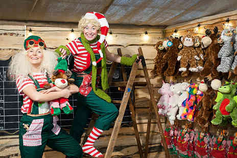 Cannon Hall Farm - Adults or child ticket to The Elves Workshop experience including farm entry - Save 37%