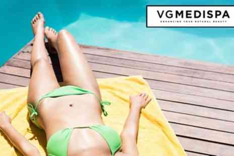 VGmedispa - Six Sessions of Laser Hair Removal - Save 89%