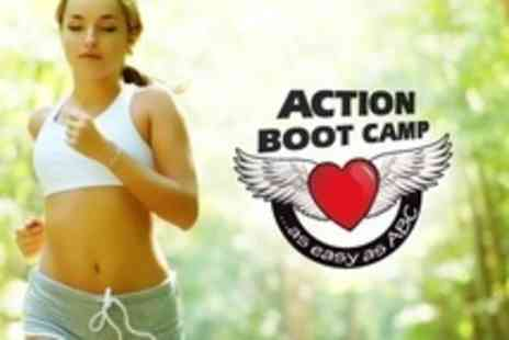 Action Boot Camp - Up to Twelve Outdoor Fitness Sessions - Save 60%