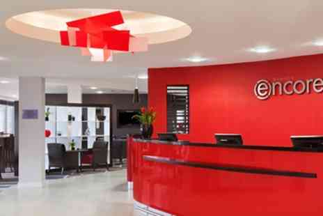 Ramada Encore Newcastle Hotel - Double Room with Breakfast, Dinner Credit, Parking and Late Check Out - Save 38%