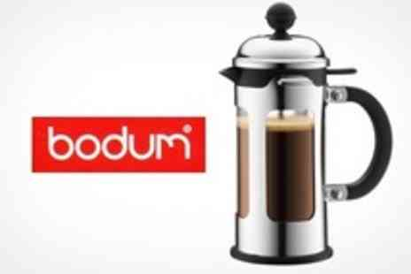 ebeez.co.uk - One Bodum Chambord Three Cup Cafetires - Save 60%