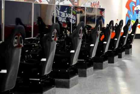 DSC Racing Sim Racing Centre - Two Hours of All Inclusive Access to Game Centre for Up to Four - Save 70%