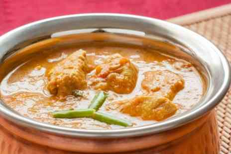 Mumbai Chilli - Two or Three Course Indian Meal with Rice or Naan and Soft Drink for Two, Four or Six - Save 52%