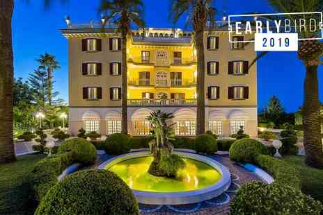 La Medusa Hotel and Boutique Spa - Four Star 18th Century Building with Mount Vesuvius Views For Two - Save 80%