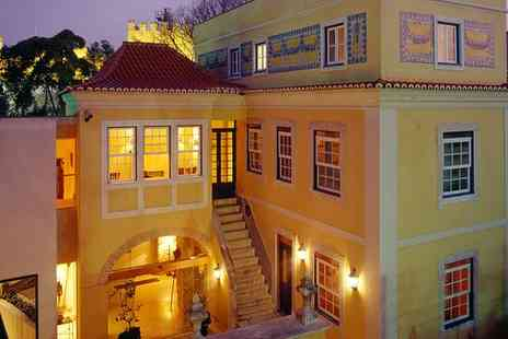 Solar Do Castelo - Four Star Mansion Boutique Stay For Two by St. Jorges Castle - Save 41%