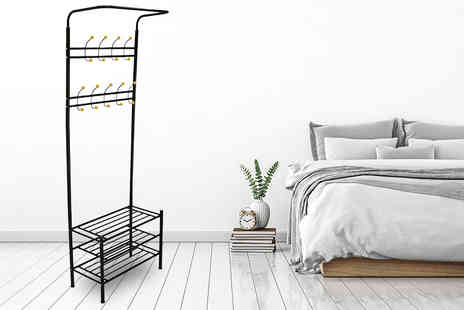 Who Needs Shops - Coat hanger, shoe rack and umbrella stand storage unit - Save 78%