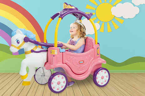 Trojan Electronics - Little Tikes princess horse and carriage - Save 35%