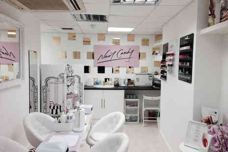Nail Candy - Shellac manicure and pedicure - Save 60%