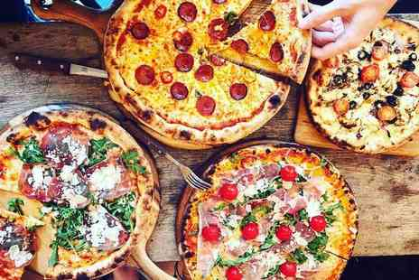 Hungry Turtle Pizzeria - Italian dining and bottomless Prosecco or wine for two people - Save 50%