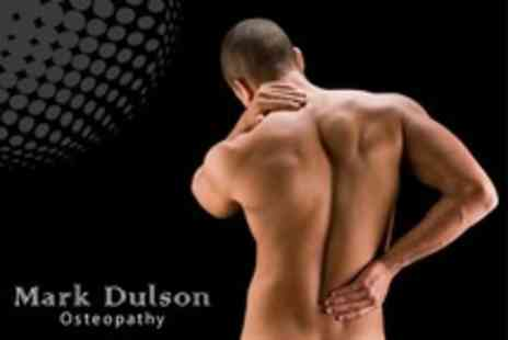 Mark Dulson Osteopathy - One Treatments of Osteopathy With Consultation - Save 82%