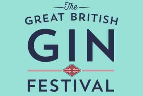 The Great British Gin Festival - One VIP ticket to The Great British Gin Festival on 10 November to 1 December - Save 50%
