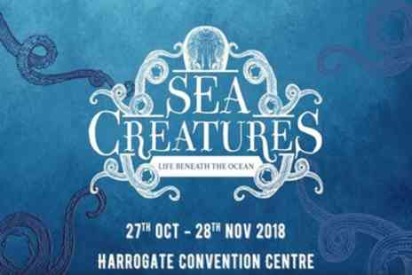 Sea Creatures - One child, adult or family ticket to Sea Creatures Life Beneath the Ocean on 27 October To 25 November - Save 22%