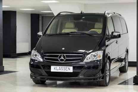 Europe Shuttle - Private Departure Transfer Central London to Heathrow Airport in a Luxury Van - Save 0%