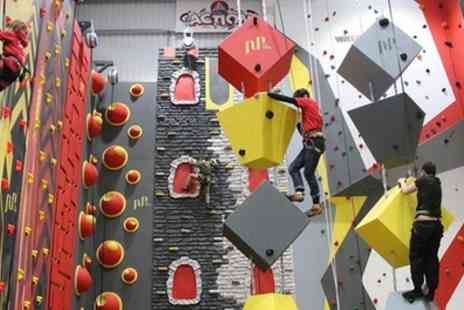 Climbing The Walls - Indoor Climbing Session for Up to Six - Save 47%