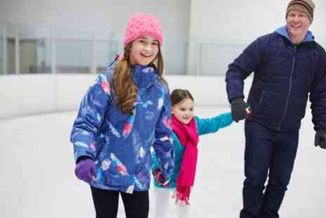 Whilton Locks Garden Village - Ice Skating with Pie and Hot Chocolate for Up to Four - Save 27%