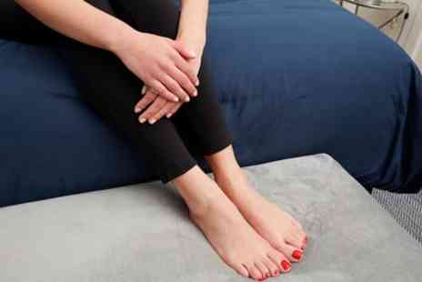 The Loft Hair & Beauty Lab - Classic or Spa Gel Manicure, Pedicure or Both with Optional Back Massage - Save 33%