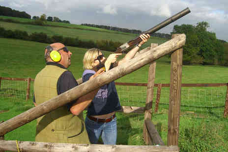 Virgin Experience Days - Clay Shooting Experience with Seasonal Refreshments - Save 51%
