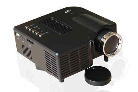 JAOYEH IRELAND - Portable LED Projector Two Colours - Save 80%