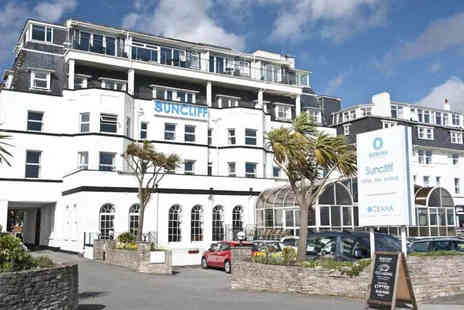 The Suncliff Hotel - One or two night Bournemouth stay for two people with three course dinner and breakfast - Save 59%