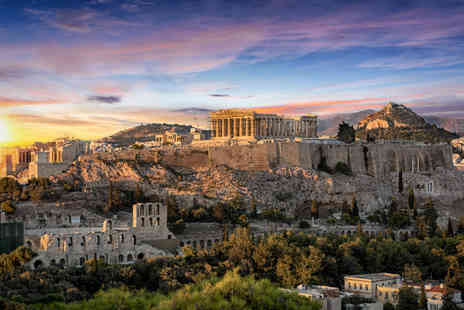 Tour Center - Two, three or four night Athens break with breakfast and return flights - Save 24%