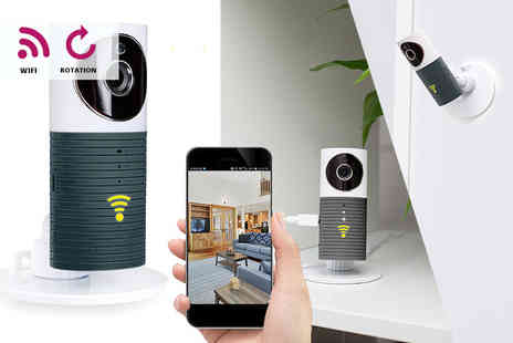 Gift Gadget - Smart wireless home security camera choose from two colours - Save 80%
