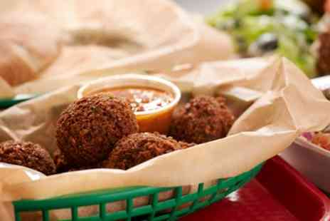 The Falafel Bar - Falafel Wrap, Pitta or Box for Up to Four - Save 28%
