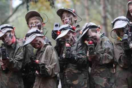Zap Combat Centre - Two Laser Tag Games for Up to Ten - Save 60%