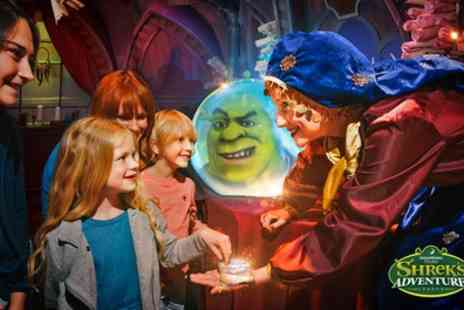 Shreks Adventure - Shreks Adventure London Entry with Shrek Lollipop and 20% Gift Shop Discount - Save 43%