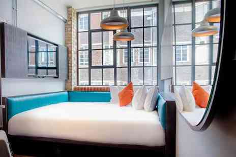 New Road Hotel - Four Star 79 Room Boutique Stay For Two in Trendy East London - Save 80%