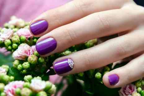 Halo Hair & Beauty - Shellac Manicure or Pedicure or Both - Save 40%