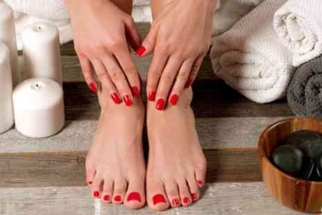 Mwah Cardiff - Gel Manicure, Pedicure or Both - Save 70%