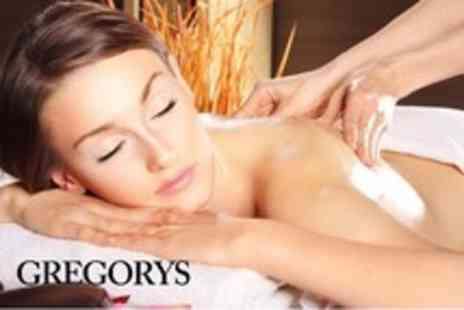 Gregorys Hair & Beauty - Choice of 3 one hour massages & a 30 min herbal facial - Save 71%