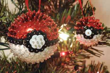 Midas Touch Crafts - Festive Decoration Making Workshop for One or Two - Save 76%