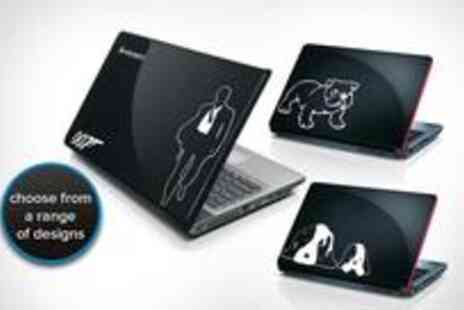 Spicy Decor - Two Vinyl Decal Tattoos and give your laptop or Macbook - Save 70%