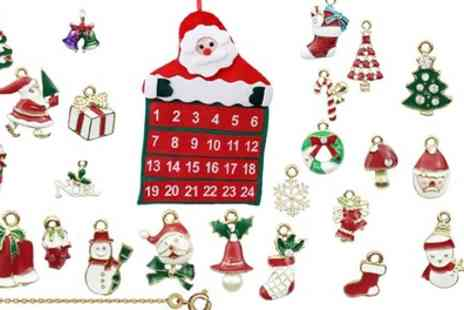 Groupon Goods Global GmbH - One or Two 24 Piece Necklace Advent Calendars - Save 23%