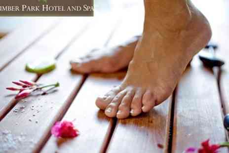 Clumber Park Hotel and Spa - £20 Spa Day with 25 min Manicure or Pedicure - Save 56%