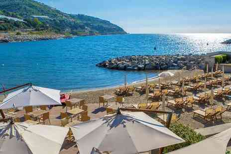 Hotel Riviera dei Fiori - Four Star Romantic Private Beach Stay For Two in Northern Italy - Save 78%