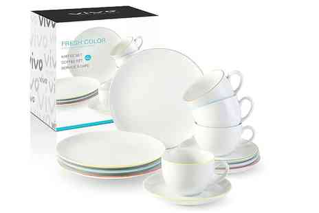 Dream Price Direct - 12 piece Villeroy And Boch coffee set - Save 76%