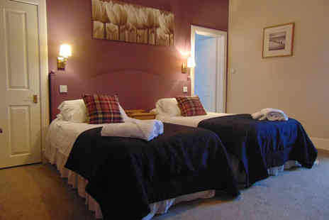 Kirkmichael Hotel - Overnight stay for two people with a two course dinner, breakfast, a bottle of wine and late check out - Save 48%
