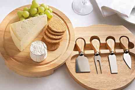 Groupon Goods Global GmbH - One or Two Cheese Board Sets - Save 60%