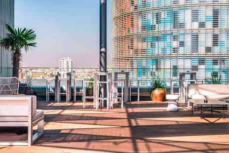 The Gates Diagonal Barcelona - Chic Catalan Style with Rooftop Pool for two - Save 80%
