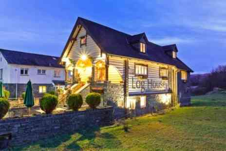 The Log House - Standard Double Room for Two with Breakfast and Steak Dinner - Save 37%