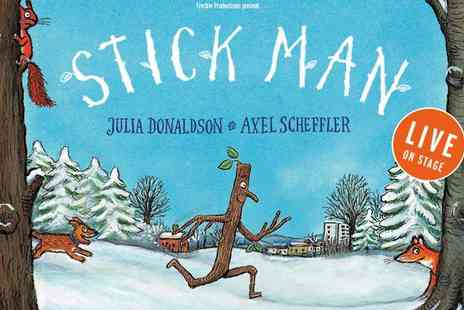 London International Arts Theatre - Back by Popular Demand Stick Man at the Leicester Square Theatre - Save 42%