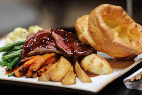 Best Western Plus Magnolia Park Hotel - Sunday roast for two people with a bottle of wine to share - Save 58%