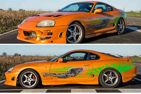 Drift Limits - Fast And Furious 14 lap Toyota Supra driving experience - Save 50%