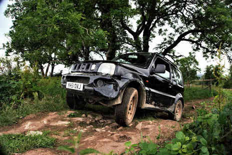 Action Adventure Activities - Kids or junior 4x4 off road experience with up to 15 minutes of driving time - Save 70%